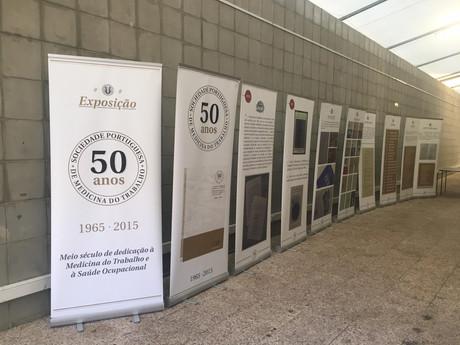 Exposição 50 anos SPMT no Encontro Nacional de Saúde Ocupacional