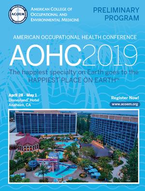 AOHC 2019, 28 de abril a 1 de maio, Califórnia (EUA)