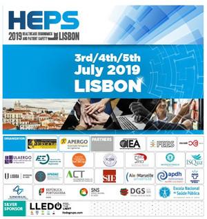Abertas as inscrições para 1 só dia! HEPS 2019 (APERGO/FMH), 3 a 5 de julho de 2019, Lisboa