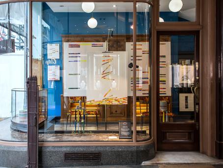 Solo show Dereconstruction at Paul Smith Gallery, Royal Acrade, Mayfair, London