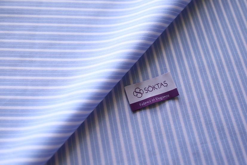 Light Blue Reverse Stripes from Soktas (1.7m)