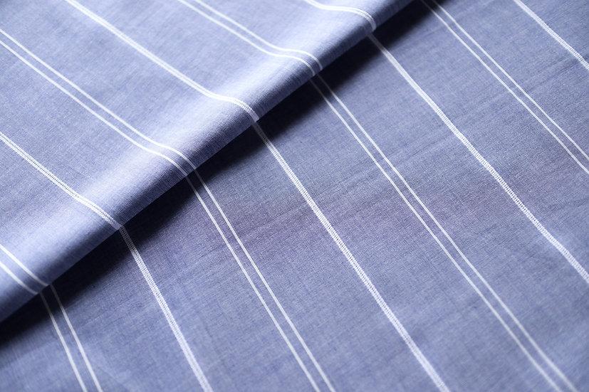 Blue Stripes Cotton (1.7m)