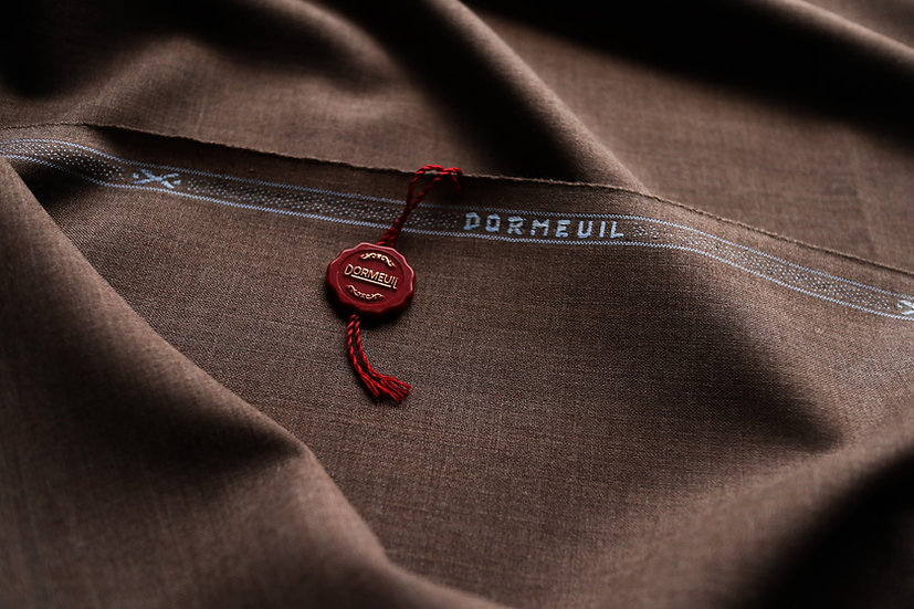 Brown Wool Dormeuil