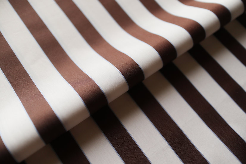 Brown Candy Stripes from Thomas Mason (1.65m)