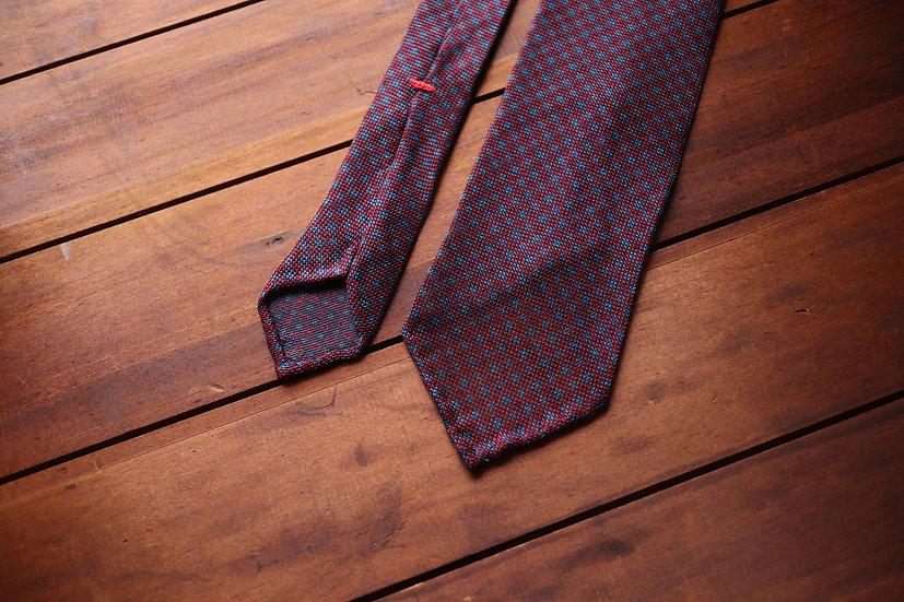 Maroon Grenadine Silk Tie