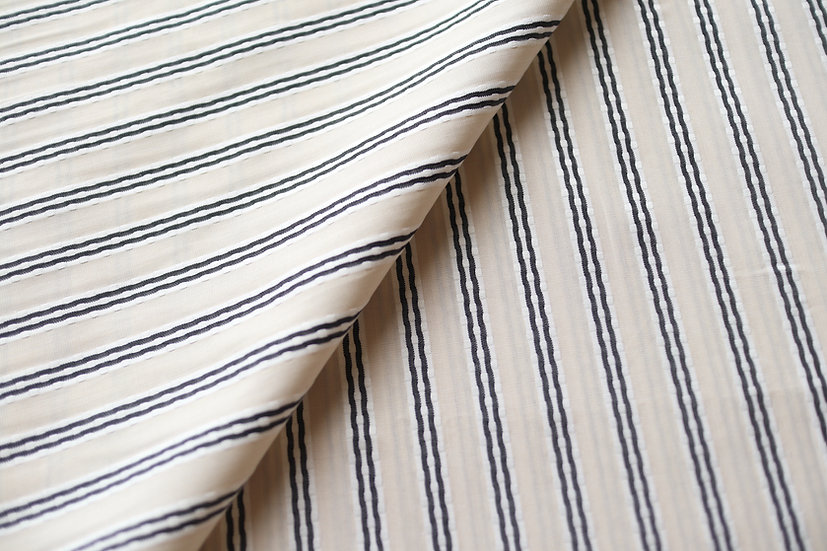 Vintage Cream Track Stripes from Monti (1.8m)