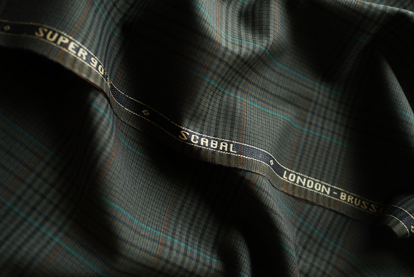 Vintage Glen Check by Scabal (1.8m)