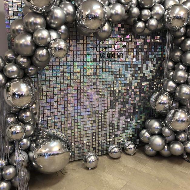 Shimmer Sequin Wall $450