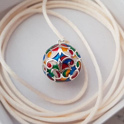 Bola coloré + 4 cordons au choix