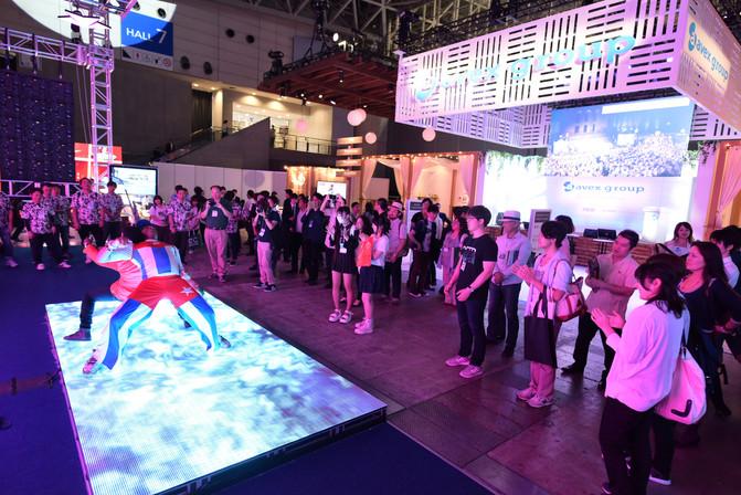 Interactive Led dance floor P10.4 from  DGX プロダクト