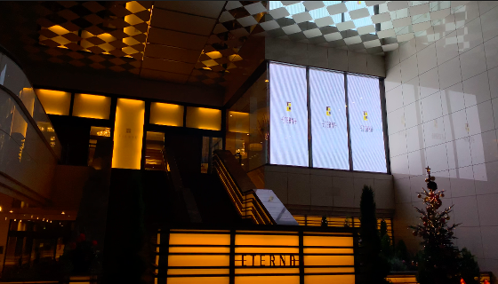 【透過性LED導入事例】結婚式場 エテルナ高崎