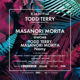 DGX-japan 協賛イベント:ダンスミュージック界のゴッド・TODD TERRY (X-Mix productions/NYC)がWOMBにやってくる。