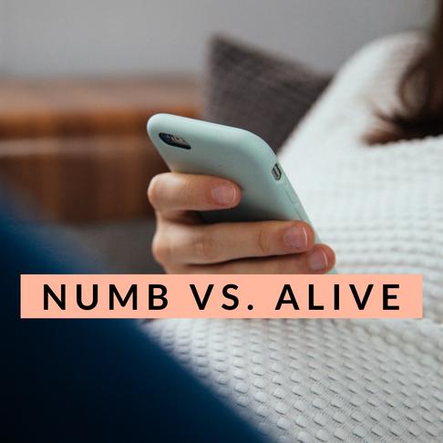 Numb vs. Alive