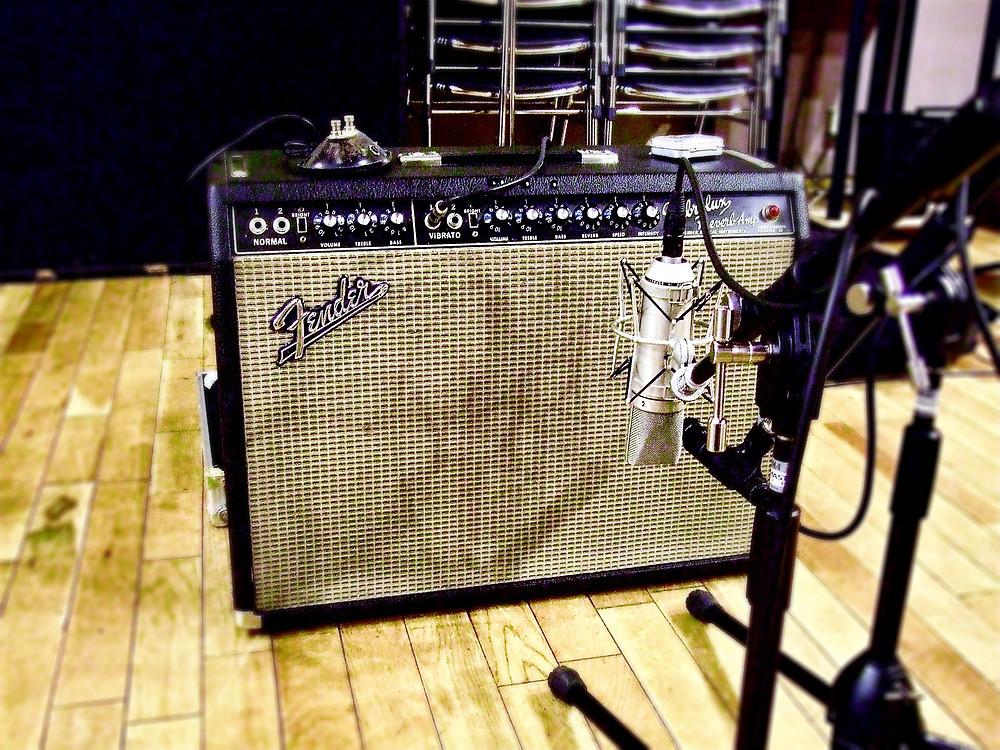 FENDER VIBROLUX REVERB AMP. 1967