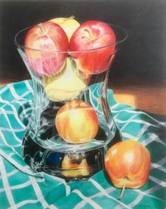 Apples in Glass