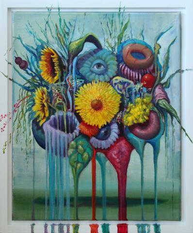 Floating Flowers - Yellow Sunflower