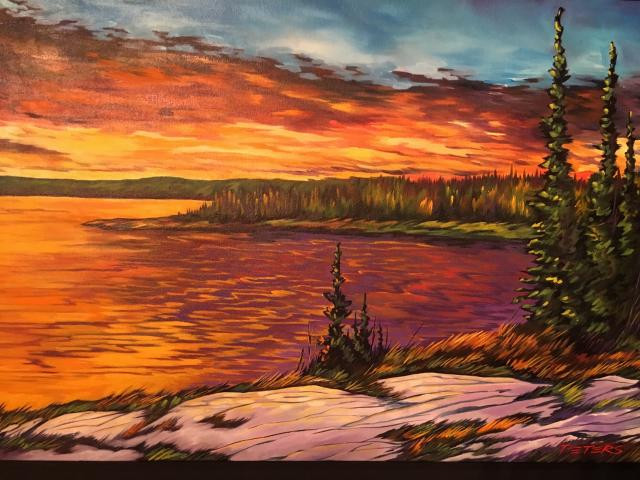 Reid Lake Sunset