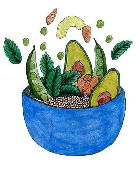 soup bowl pointillism.jpg