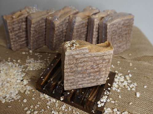 Honey and Oatmeal Soap Bar