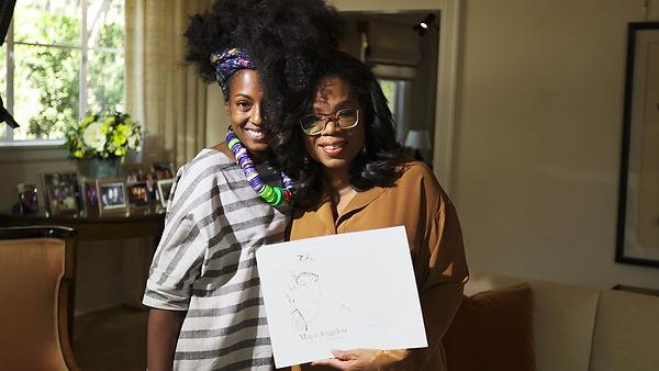 Oprah Winfrey and Adrienne Wade April 2018.jpg