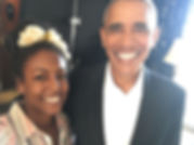 Obama and Adrienne 2018