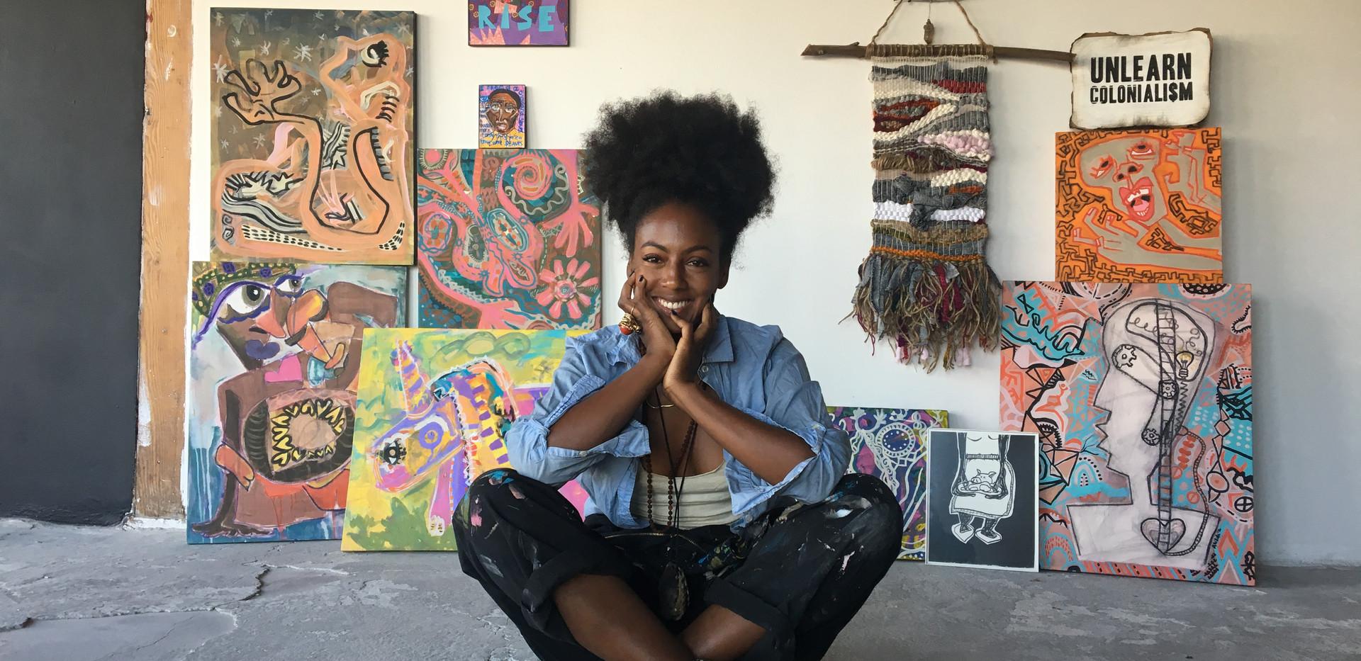 Artist Adrienne Wade_Solo Exhibition_Mot