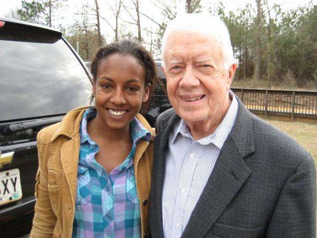 Jimmy Carter and Adrienne W.jpg