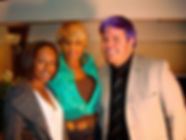 Adrienne Wade, Mary J. Blige and Perez H