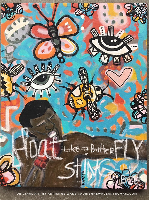 (Sold) Float. Fly. Sting.