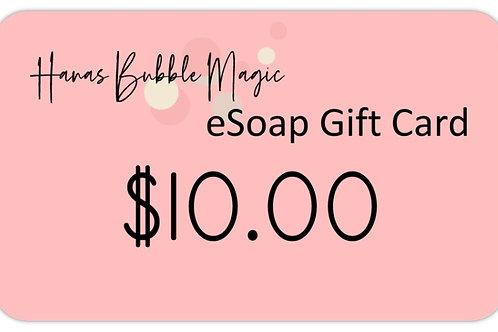 eSoap Card