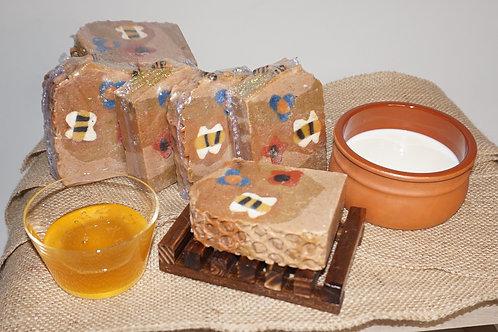 Honey and Goats Milk Soap Bar