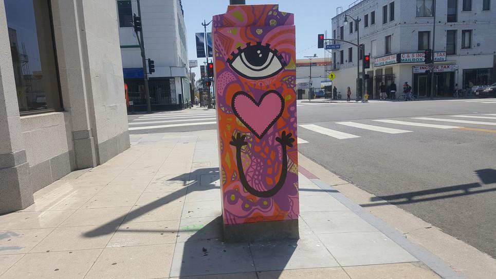 Adrienne Wade_City commission_Street art