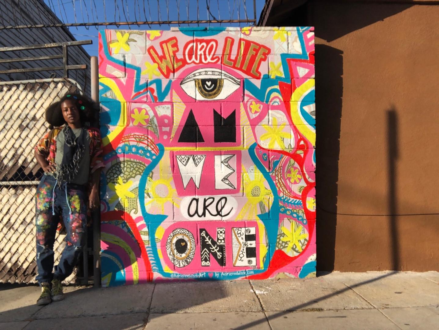 Adriennne Wade Street Art
