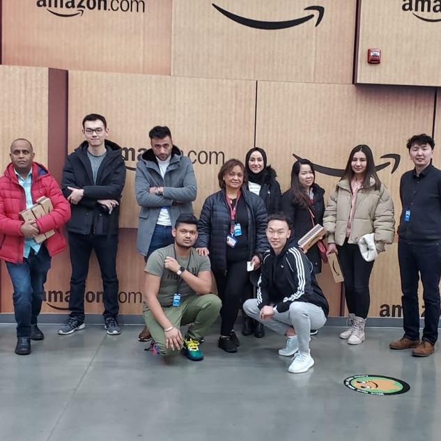 Tour to Amazon warehouse