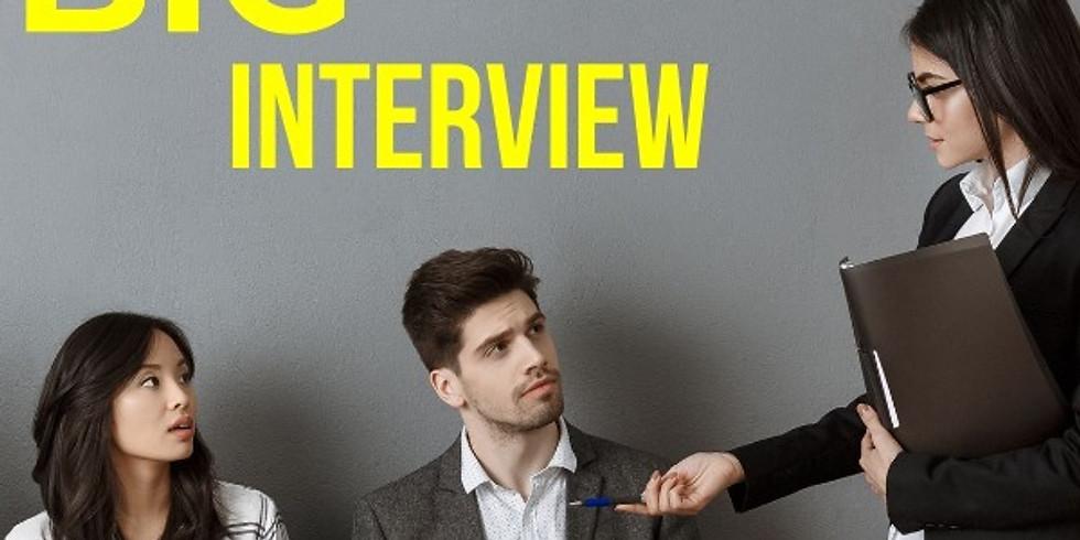 Big-Interview Workshop