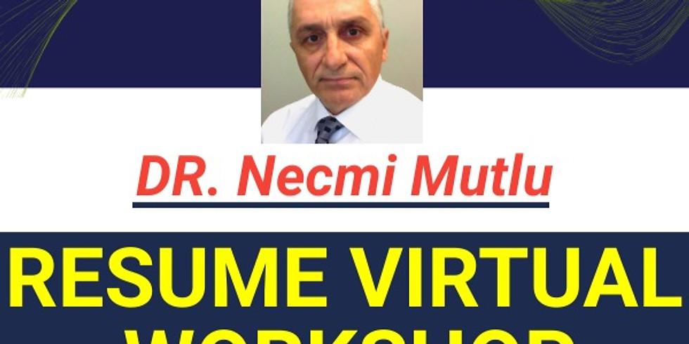 Resume Virtual Workshop - Spring 2020