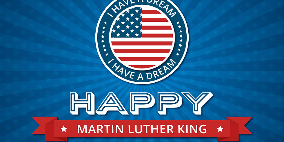 Martin Luther King (MLK) day (No school)