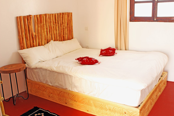 Red Rooftop Double Room