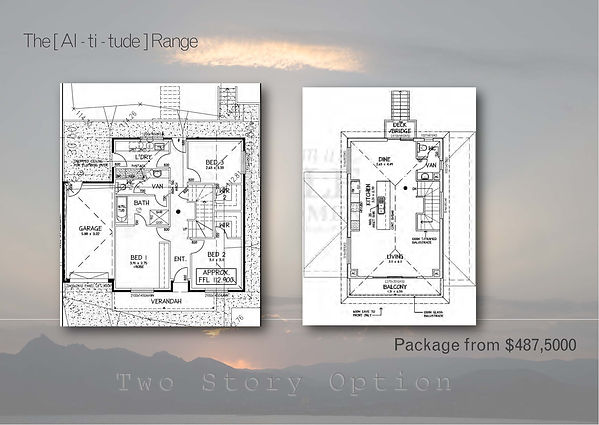 Altitude Booklet single & two story  150