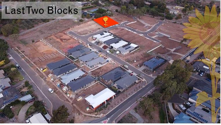 Last blocks Onkaparinga Rise Onkaparinga Hills