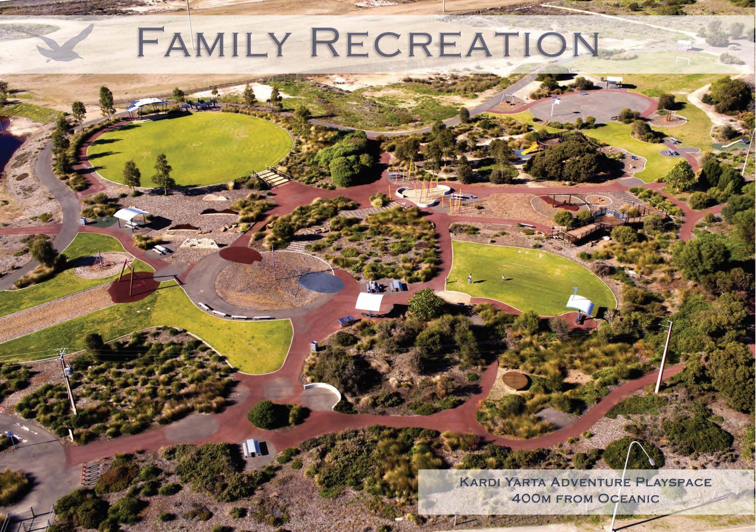 Oceanic Family Recreation Playground