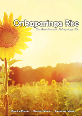 Onkaparinga Rise Overall Brochure  Burns