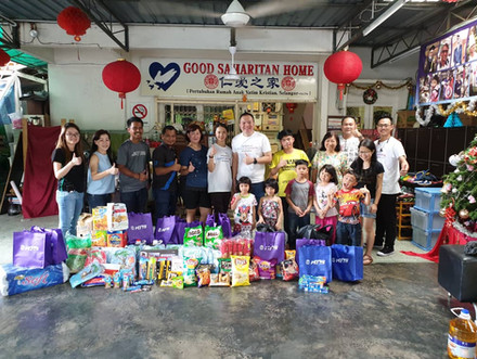 Visit to Orphanage Home in Klang