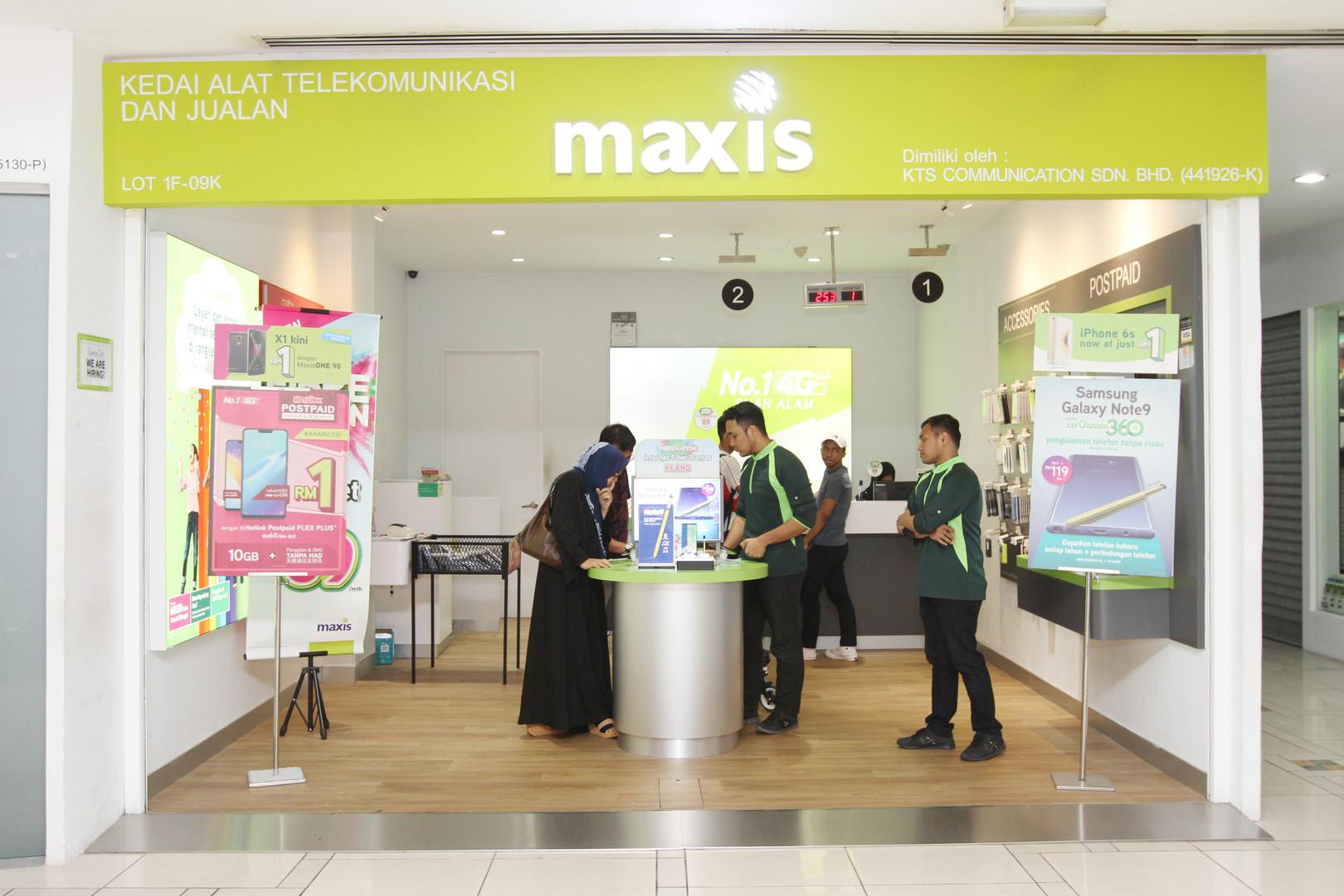 Maxis SACC MALL SHAH ALAM.JPG