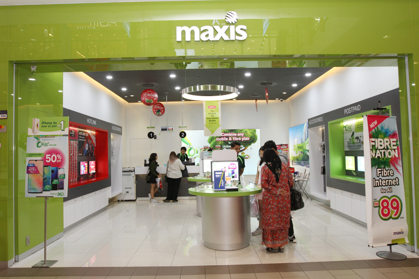 Maxis Setia City Mall.JPG