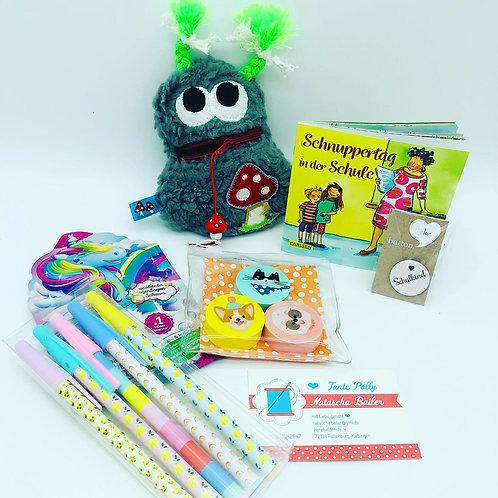 Schulanfangs-Überraschungsbox für Mädchen by Tante Polly handmby Natascha Bailer