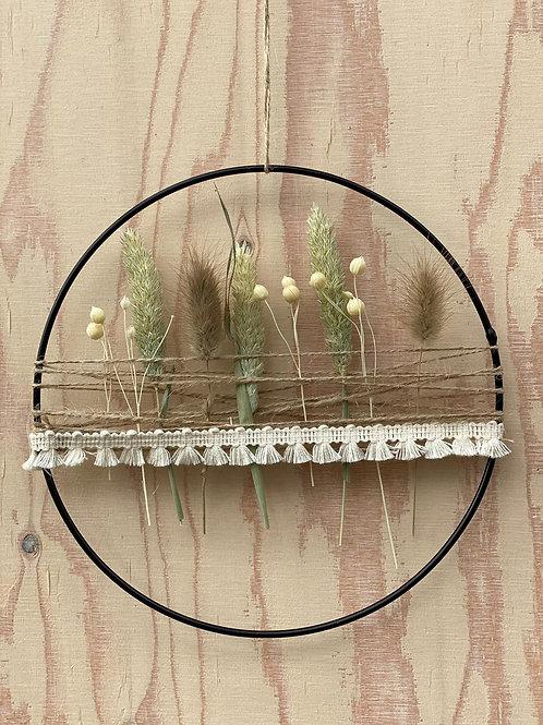 Loop mit Trockenblumen by blütenmanufaktur