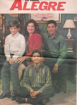 Ene 2, 1995. Portada La Tarde Alegre