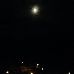 Instagram - Para casi cerrar el día, este regalo siempre espectacular: la luna s