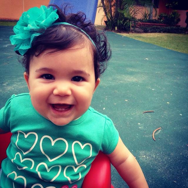 Instagram - Y he aquí la menor de mis princesas, Adriana Marie, un rayito de sol